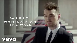 Sam Smith Writing 39 S On The Wall From Spectre