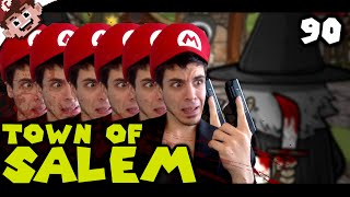 Serial Killer vs 6 Mafia! (The Derp Crew: Town of Salem - Part 90)