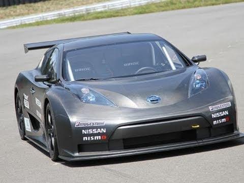 日産「リーフ」のレースカー、テスト走行公開