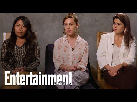 'Roma' Star & Best Supporting Actress Nominee Marina de Tavira | Oscars 2019 | Entertainment Weekly
