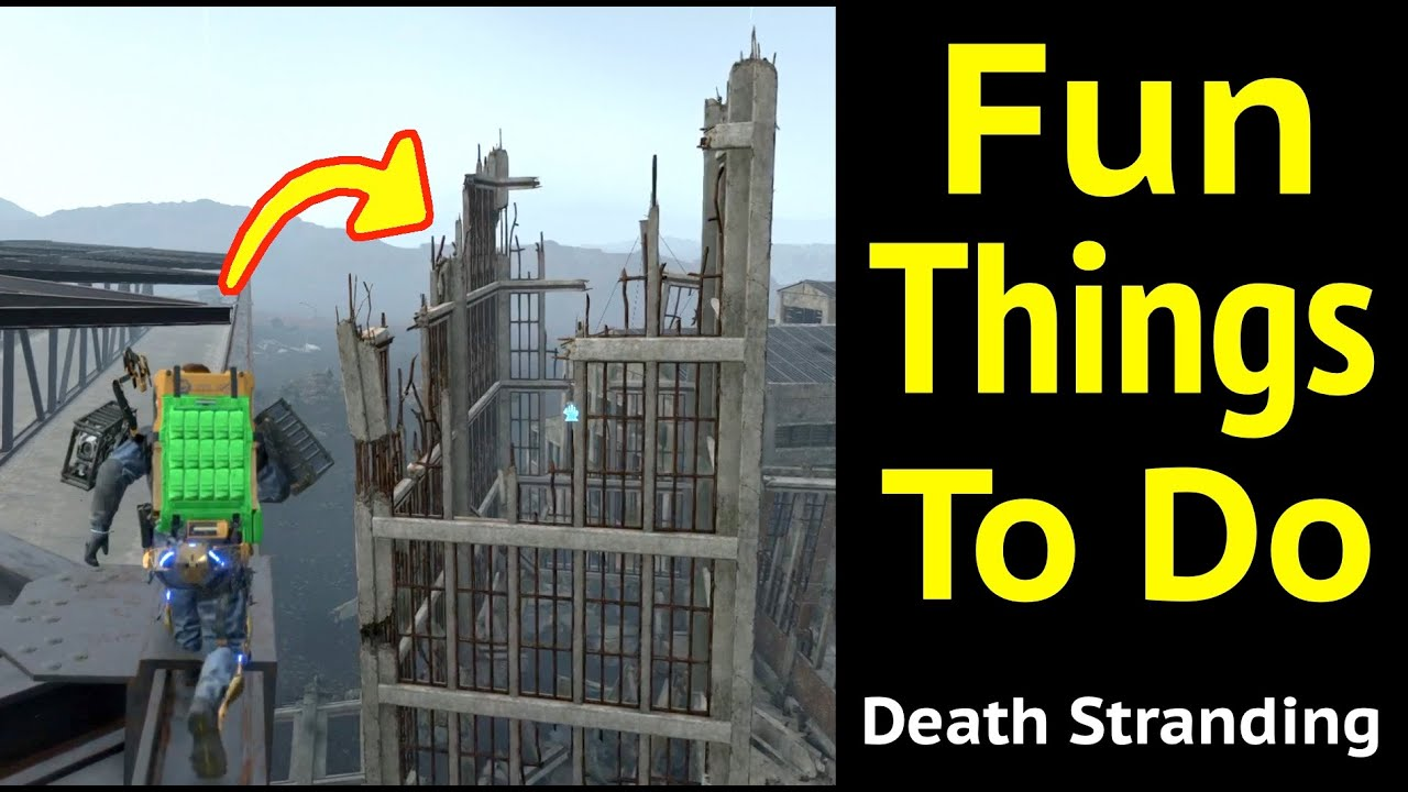 Fun Things You Can Do in Death Stranding thumbnail