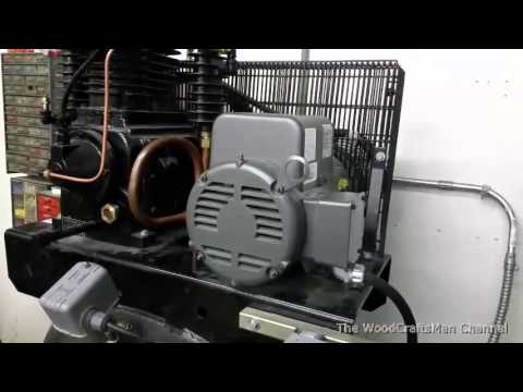 Air Compressor Magnetic Starter Wiring - YouTube