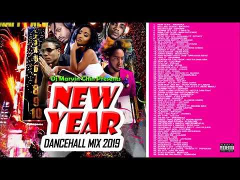"DJ MARVIN CHIN ""NEW YEAR DANCEHALL MIX 2019, GOVANA, TEEJAY, MAVADO, VYBZ KARTEL, ALKALINE"