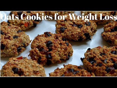 3 Ingredient Healthy Oats Breakfast Cookie Recipe For Weight Loss By Food Alchemy, Sugar-free Cookie