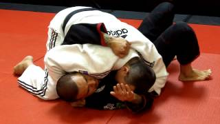 Jiu Jitsu Techniques - Guard Pass / Submissions from side control - Armbar, Triangle, Lapel Choke