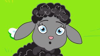 Baa, Baa, Black Sheep Nursery Rhyme | Children's Kid Songs by FluffyJetToys Kids Animation