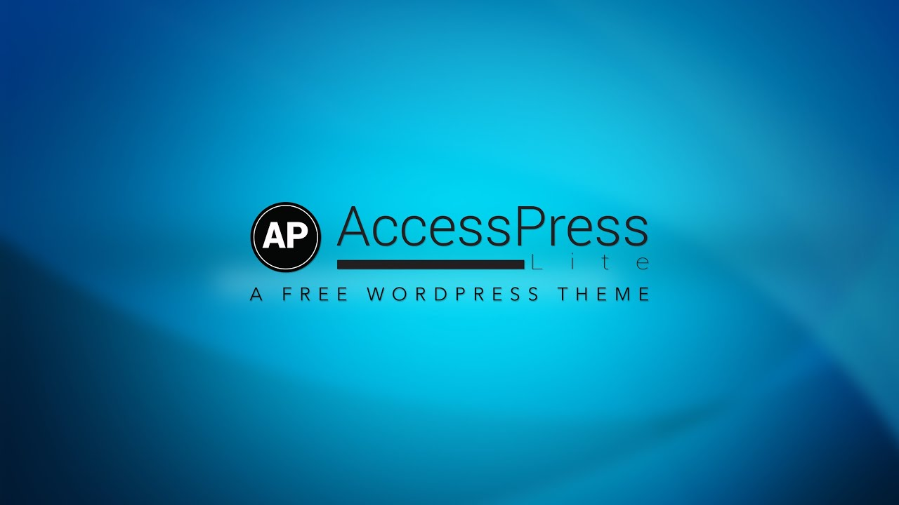 how to change menu alignment and webpage layout free wordpress theme accesspress lite youtube