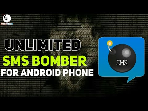 Unlimited SMS Bomber App For Android Phone (Send Anonymous SMS To Victim)  || Android Kida ||
