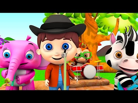 The Bunny Song | Kindergarten Nursery Rhymes & Songs for Kids