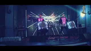 Световые барабанщики RHYTHMMEN на Международной премии Вольфа Мессинга в Украине 2019.