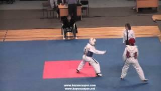 54kg Serkan Kavgacı - Salih S. Hakli  (2012 Turkish Taekwondo Championships Under -21)