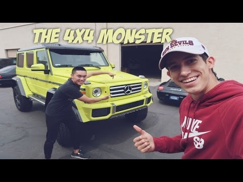 Buying A $325K Mercedes 4x4 Squared G550 | The Beast (ACCELERATION)