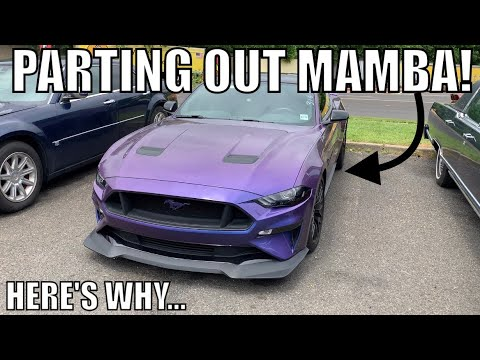 Why I'm PARTING OUT my Modified 2018 MUSTANG GT! *Let Me Explain*