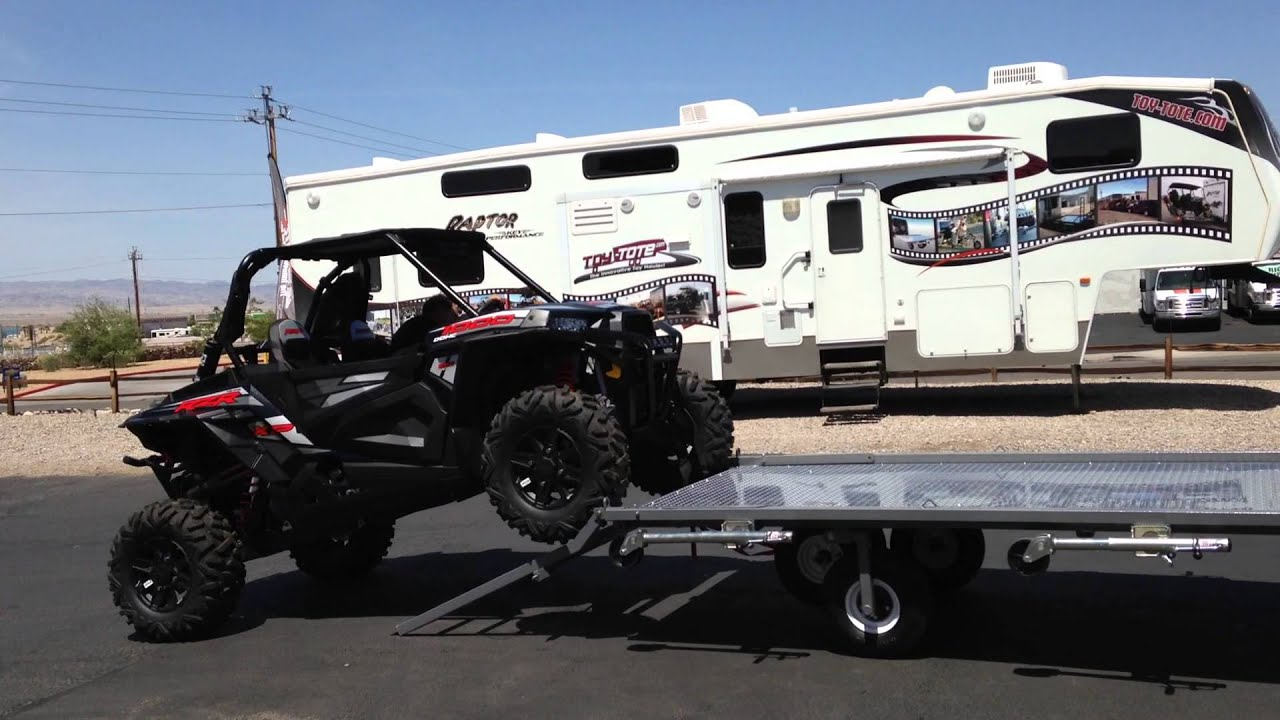 Golf Cart With Travel Trailer
