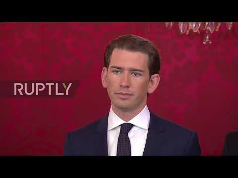 Austria: Kurz sworn