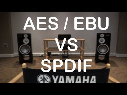 AES VS SPDIF which is the best for HiFi Sound Quality different flavours of Digital Connections