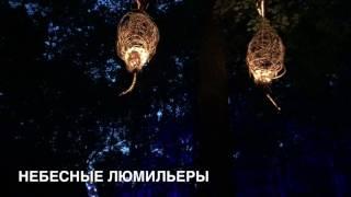 Световое шоу в Москве в парке Останкино, сказочный лес/ 22 июля 2017