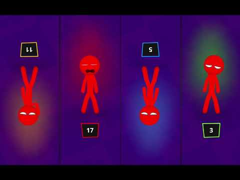 THE stickman PARTY BUGS – gameplay NEW version MINIGAMES [ android / ios ] 😯