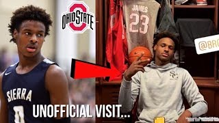 Bronny James Has A Unofficial Visit At Ohio State... | University Of Kentucky On Radar