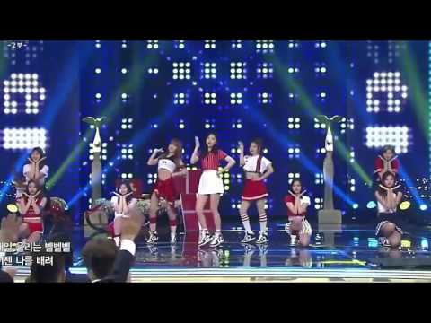 [161224] TWICE-CHEER UP @ 2016 KBS ENTERTAINMENT AWARD