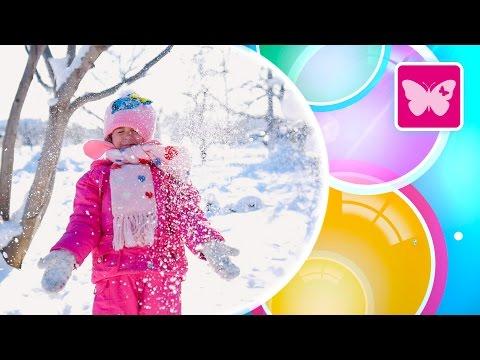 Мультики для детей: #4МАШИНКИ. Игры со снегом и снегоуборочная машина. Развивающее видео для детей