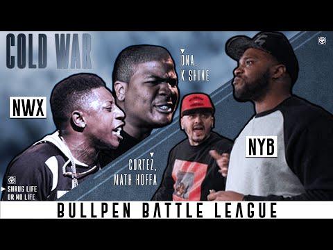 DNA & K Shine vs Math Hoffa & Cortez (2v2 Battle) | BullPen Battle League