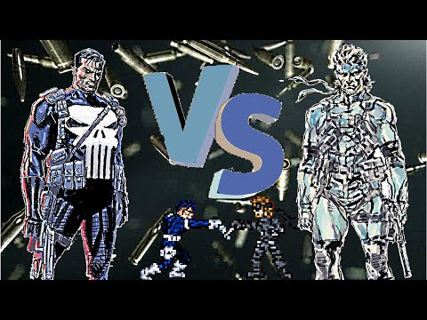 The Punisher vs Solid Snake
