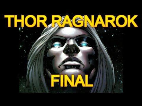 THOR RAGNAROK - FINAL - la muerte de thor