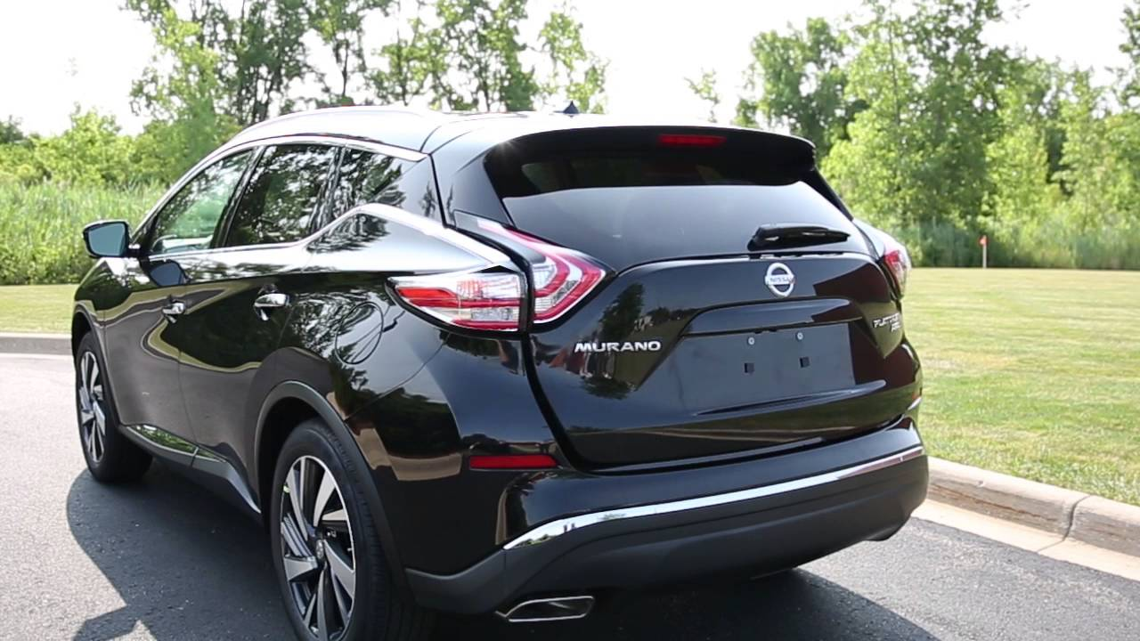 2016 nissan murano power liftgate if so equipped youtube - Nissan murano 2017 interior colors ...