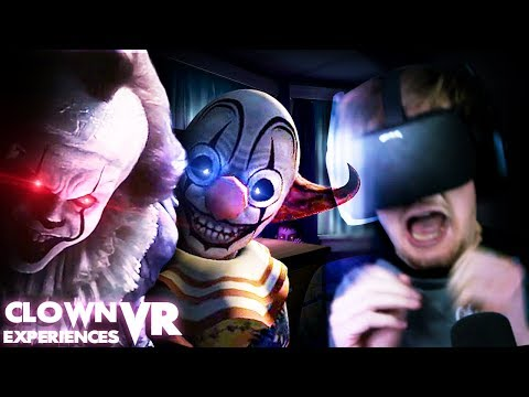 DO NOT PLAY WITH CLOWNS. || IT VR Experience/ Face Your Fears (VR Clown Experiences) |