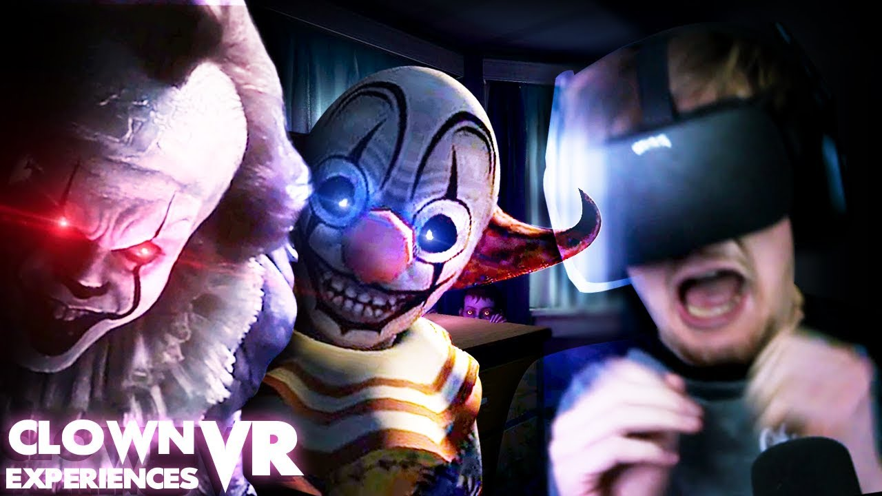 DO NOT PLAY WITH CLOWNS. || IT VR Experience/ Face Your Fears (VR Clown Experiences)