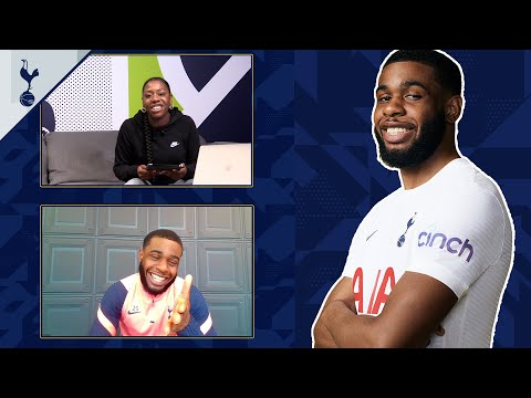 How does it feel to get hit by Harry Kane's shots in training? | JAPHET TANGANGA Q & A!