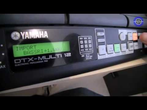 Yamaha dtx 12 multi pad review sonic lab youtube for Yamaha dtx review