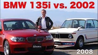 BMW 2002 turbo vs. 135i 木下隆之が乗り比べる!!【Best MOTORing】2008