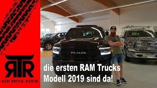 Dodge RAM Truck's 2019 auf der  RTR - RAM Truck Ranch - Nico's erster Eindruck