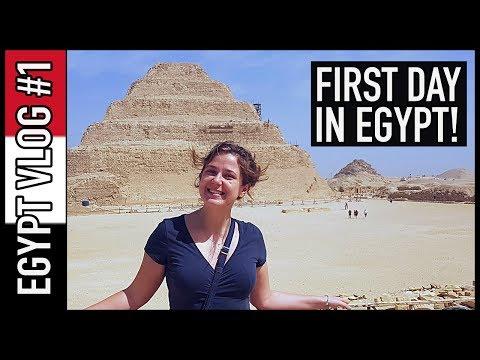 HELLO, CAIRO! | Egypt Travel Vlog #1