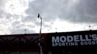 2012-09-30 Modell's & PC Richards blasting music in support of Barclays from 10am until 10pm & later