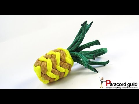 Paracord pineapple