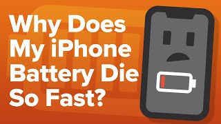 Download Why Does My iPhone Battery Die So Fast? An Apple Tech's 14 iPhone Battery Drain Fixes! Mp3 and Videos