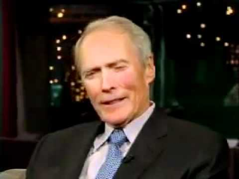 Clint eastwood bij david letterman another dirty harry - David s salon eastwood ...