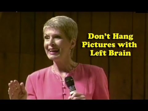 Jeanne Robertson   Don't Hang Pictures With Left Brain