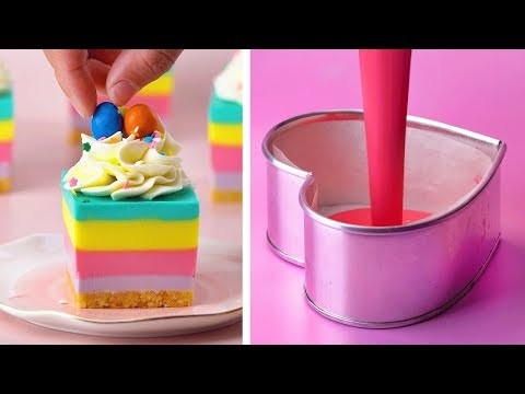10 Making Easy Dessert Recipes | Awesome DIY Homemade Recipes For Your Family | So Tasty Cake