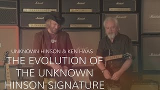 Unknown Hinson & Ken Haas On The Evolution His Signature Guitar • Wildwood Guitars Interview