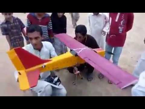 In Pakistan Rc Airplane Flying New Rising Talent
