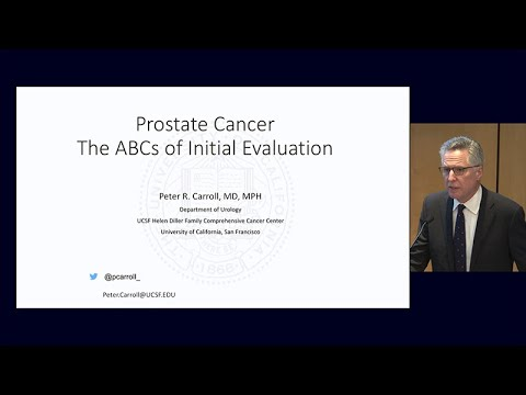 Prostate Cancer: The ABCs of Initial Evaluation