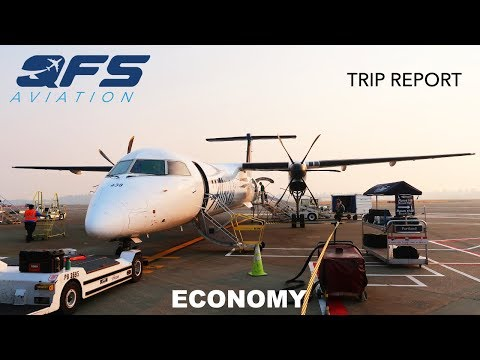 TRIP REPORT | Horizon Air - Dash 8 400 - Seattle (SEA) to Portland (PDX) | Economy