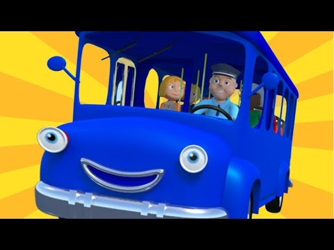 Wheels On The Bus | Nursery Rhymes For Childrens And Kids Songs For Baby