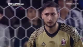 Juventus 1 x 1 (3-4) Milan - Supercopa da Itália (2016)