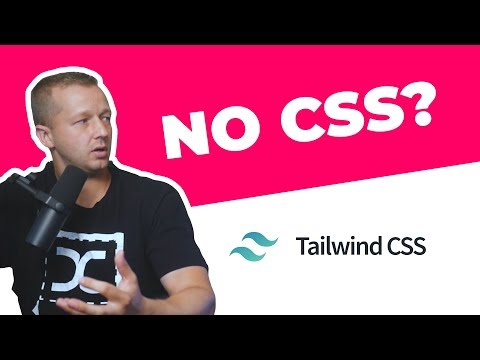Web Design with NO CSS? TailwindCSS Crash Course