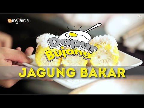 #DapurBujang: Jagung Bakar Kelapa.